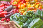 Bell And Chilli Peppers — Stock Photo