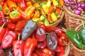 Chilli Peppers For Sale — Stock Photo