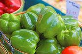 Zielona papryka — Zdjęcie stockowe