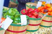 Assorted bell peppers — Stock Photo