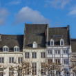 Old houses at the Vrijthof in Maastricht — Stock Photo #65353151