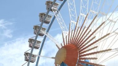 Big Ferry Wheel — Stok video
