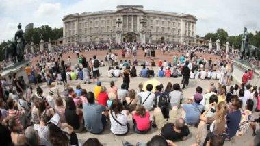 Buckingham Palace London — Stock Video