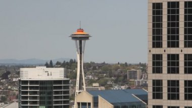 Seattle Space Needle — Stock Video