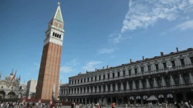 St Mark's Square Venice — Stock Video