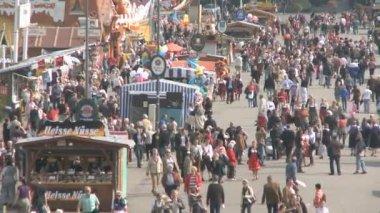 Oktoberfest scenery — Stock Video