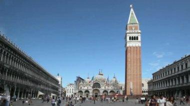 St Mark's Square Venice — Stock Video