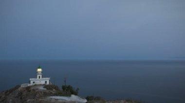 Faros Lighthouse — Stock Video