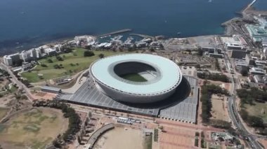 Capetown Greenpoint Stadium — Stock Video