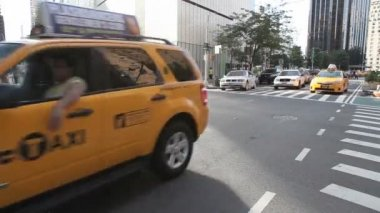 New York City Cabs — Stock Video