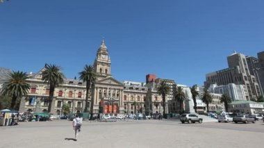 City Hall Capetown — Stock Video