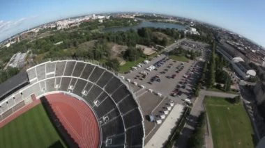 Helsinki Sonera Stadium — Stock Video