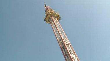 Oktoberfest Freefall Tower — Vídeo Stock