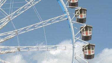 Big Ferry Wheel — Stock Video