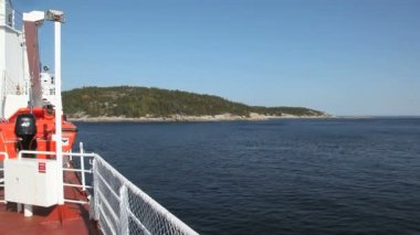 Ferry tadoussac — Vídeo de Stock