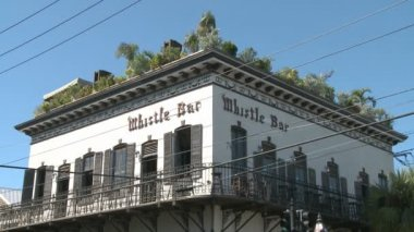 Whistle Bar Key West — Stock Video