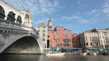 Rialto Bridge Venice — Stock Video