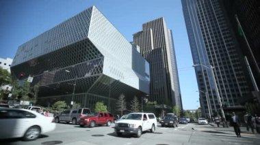 公共图书馆西雅图 — 图库视频影像