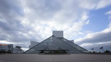 Rock & Roll Hall of Fame and Museum — Stock video