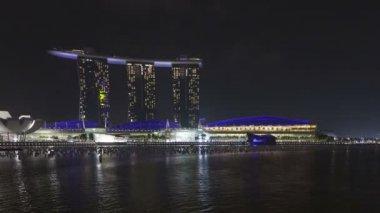 Marina Bay Sands resort — Stock Video