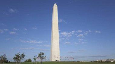 Washington Memorial in Washington, DC, USA — Stock Video