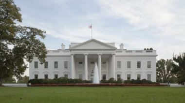 The White House - Washington DC, United States — Wideo stockowe