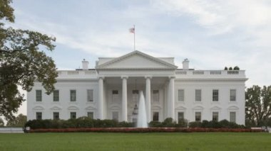 The White House - Washington DC, United States — Stock Video