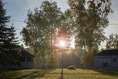 Canadese zonnige ochtend — Stockfoto
