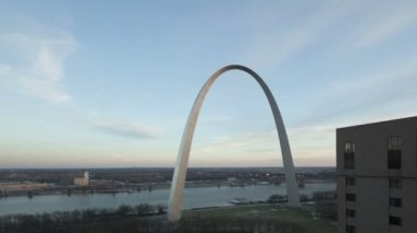 Gateway Arch St. Louis — Stock Video