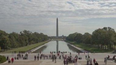 Washington Memorial in Washington, DC — Stock Video