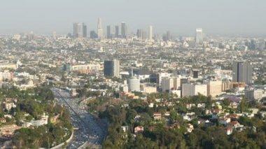 Skyline of Los Angeles — Stock Video