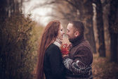 Affectionate couple in love — Stock Photo