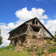Old ruined wooden barn — Stock Photo #67163891