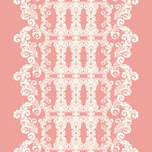 Lace seamless pattern — Stock Vector