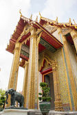 Temple, Thailand, gold, doors, beautiful, heritage, Thailand, go — Stok fotoğraf
