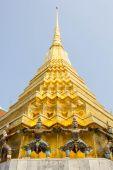 Temple, Thailand, gold, doors, beautiful, heritage, Thailand, go — Stock Photo