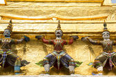 Temple, Thailand, gold, doors, beautiful, heritage, Thailand, go — 图库照片