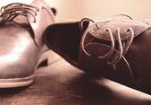 Beautiful man shoes — Stock Photo