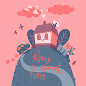 Home sweet home. — Stock Vector