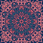 Blume Mandala. abstrakt. — Stockvektor