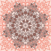 Flower Mandala. Abstract background. — Wektor stockowy