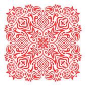 Mandala de flores. elemento abstracto para diseño — Vector de stock