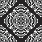Seamless background with abstract ethnic pattern. — Wektor stockowy