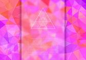 Abstrait polygonale — Vecteur