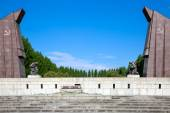 Soviet war memorial, Treptower Park, Berlin, Germany — Stock Photo