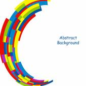 Färgglad abstrakt bakgrund mall. — Stockvektor