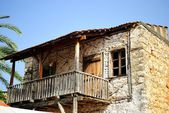 Old 2 storey house — Stock Photo