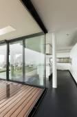 Modern villa interior — Foto Stock