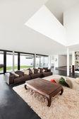 Beautiful interior of a modern villa — Foto Stock