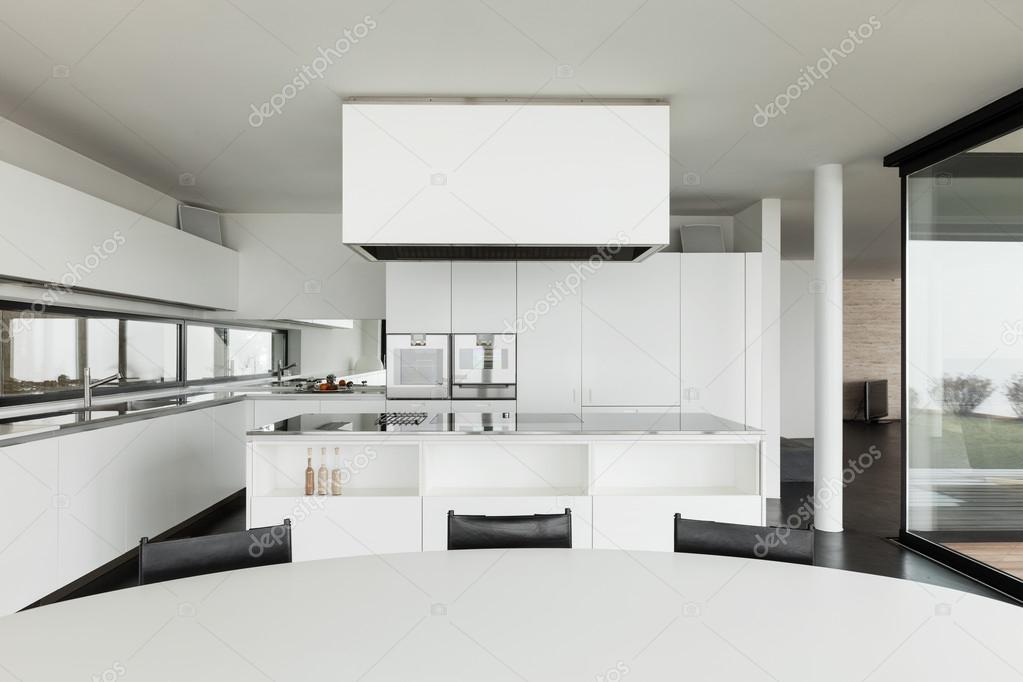 Villa moderna cucina foto stock zveiger 53828703 for Piani di architettura domestica moderna